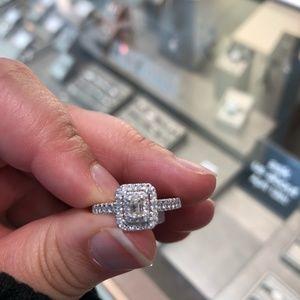 Kay white gold engagement ring